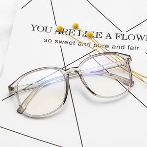 ISummer Fashion Clear Glasses Frame for Women Men Vintage Clear frame Round Eye Glasses Female Transparent Optical Glasses Frame