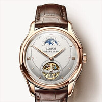 Leather  Watch Men Seagull Automatic Mechanical Movement Luxury Brand