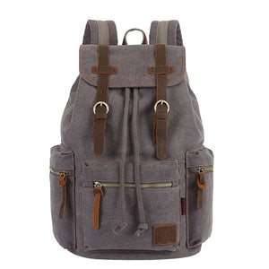KAUKKO Men And Women Travel Students Casual For Hiking Travel Camping Backpack lady Student Canvas Mochila Mujer schoolbag bag