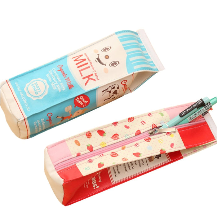 Large-capacity Pencil Case Study Accessories Organizer Storage Bags Handbag Pen Package Women Wallet