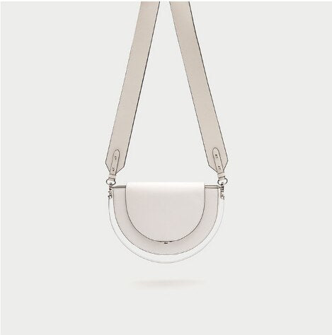 Luxury Handbags Women Bags Designer Half Moon Genuine Leather Women Bag Purses Women Leather Handbags Clutch Handbags