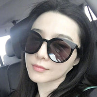 Luxury Vintage Round Sunglasses Women Brand Designer 2018 Cat Eye Sunglasses Sun Glasses For Women Female Ladies Sunglass Mirror