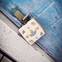 Luxury high quality lock retro fashion design mini flap women's handbag pu leather shoulder messenger box Crossbody tote bag 868