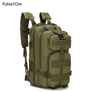 Men Military Tactical Backpack 30L Camouflage Outdoor Sport Hiking Camping Hunting