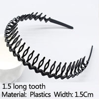 Men's models Women's wavy headbands Plastic headbands Washing clips Wide fine hairpins people's basic models 9 models