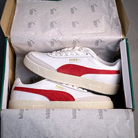 2020 New Women and Men Fancy white  and red shoes