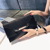 NYHED Women Days Clutches New Causal Handbags sequined pu Party Evening pouch For Female envelope Bag