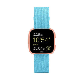 New 2018 For Fitbit Versa Wristband Wrist Strap Smart Watch Band Strap Soft Denim Watchband Replacement Smartwatch Band