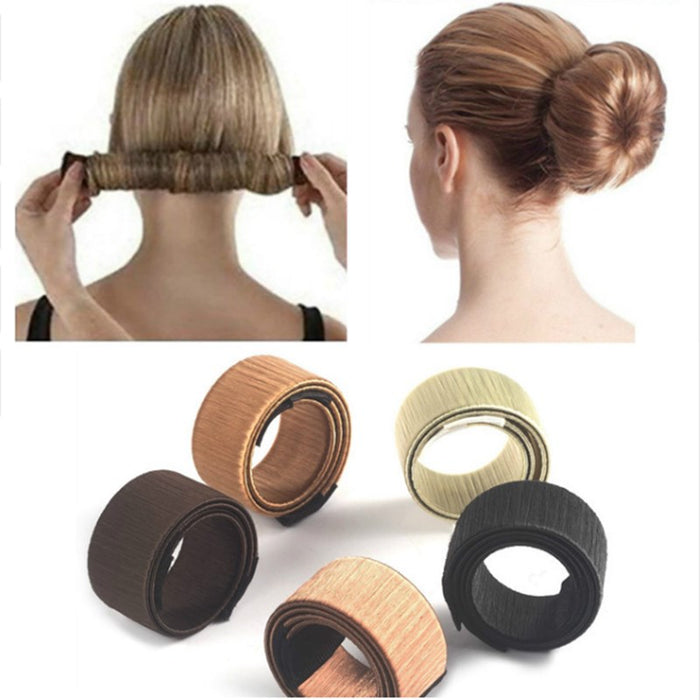 New 8 colors magic hair styling tools magic bun manufacturer France twisted hair girl women hair accessories braid donut hairpin