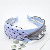 New Arrival 40Colors Drill Lace Hair Knotted Hair Band for Women