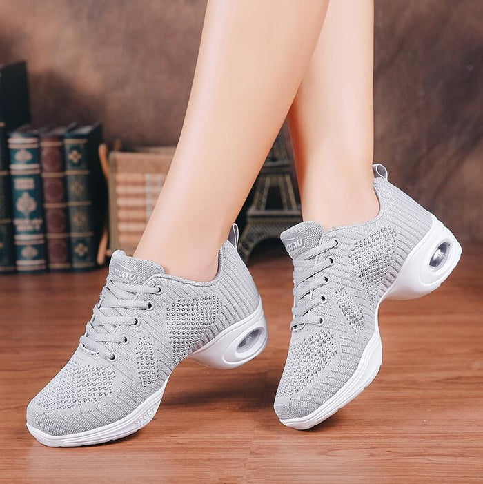 New Brand Design Dancing Shoes For Women Jazz Sneaker New Dance Sneakers For Women Modern Street Dance Shoes Ladies Trainers