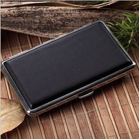 New Cigarette Case 7 Colors Slim Cigarette Box for Men and Women Holds 14pcs 100mm Long Cigarettes
