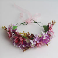 New Design Women Flower Wreath Head Band Wedding Garland Hair Access