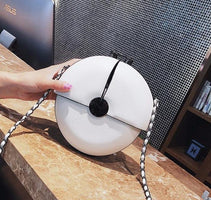 New Fashion Brand Women Chain Bag Lady Messenger Bag Small Round Bag Spring Summer Cute Mini Shoulder 3 Colors