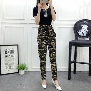 New Fashion Summer Wide Leg Pants Women High Waist Plaid Striped Slim Palazzo Pants Elegant Office Ladies Trousers