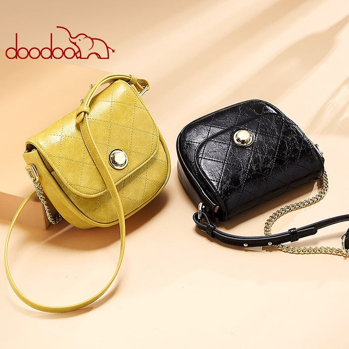 New Women Saddle Bag Thread rhombus PU Leather Shoulder bags Designer Messenger Crossbody waist Bag Handbag Chest pochete