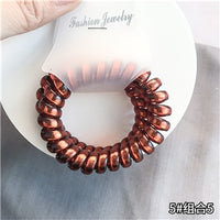 New arrival 2pcs/lot women lovely telephone ring hair tie girl's fashion