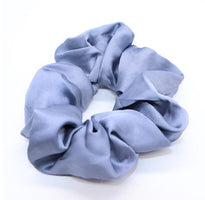 New arrival Fashion women lovely satin Hair bands bright color hair scrunchies