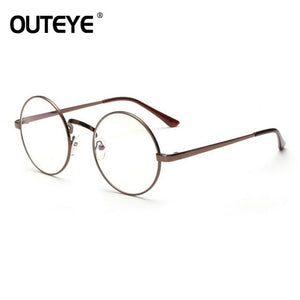 OUTEYE New Men Women Nerd Glasses Clear Lens Eyewear Unisex Retro