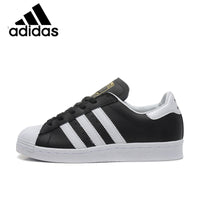 Official Original ADIDAS Clover Superstar Men and Women Skateboard Shoes Black