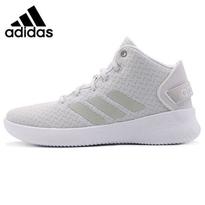 Original New Arrival  Adidas  NEO Label REFRESH MID W Women's  Skateboarding