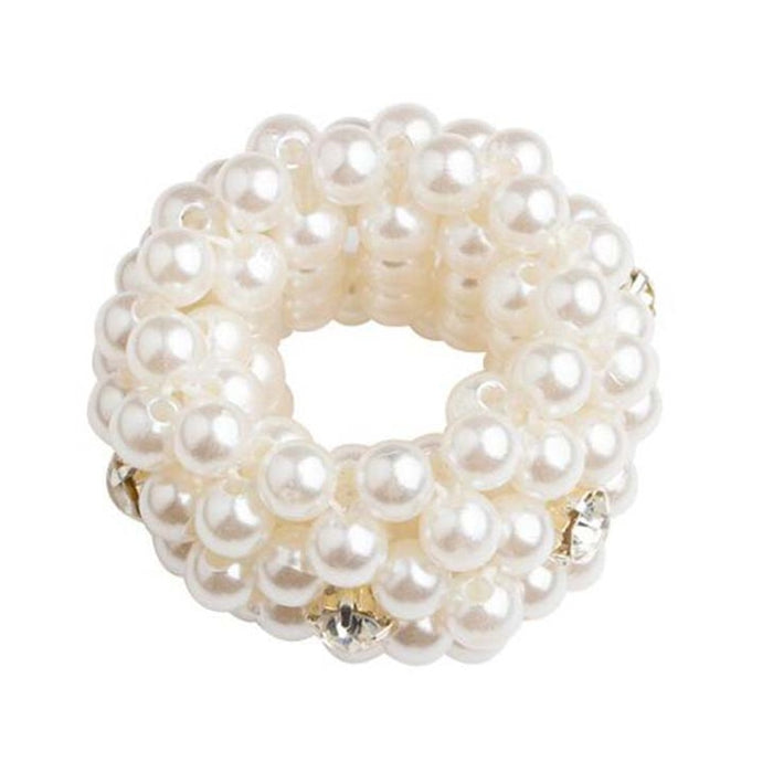 Pearls Beads Hair Ties Elastic Hair Bands For women Hair Rope Scrunchies