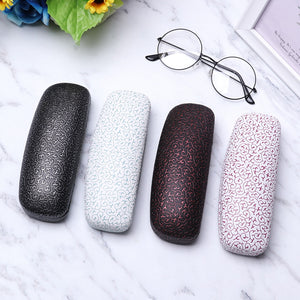Print Eyeglasses Box Sunglasses Eye Glasses Case Women Men Hard Metal Glasses Protector Box Fashion Eyewear Accessories