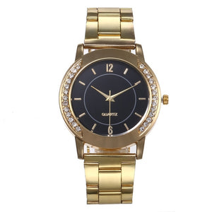 Quartz Watch Woman's High-end Blue Glass Life Waterproof Distinguished women watches Dress watch Party decoration gifts Female