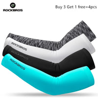 ROCKBROS Sport Arm Warmers Sun Protection Hiking Basketball Volleyball
