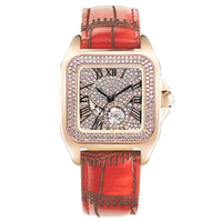 Devena waterproof  square mechanical watch woman automatic mechanical