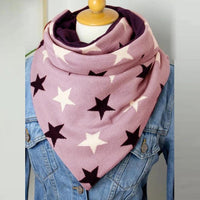 2020 Solid Stitch Printing Button Wrap Soft Casual Warm Scarves