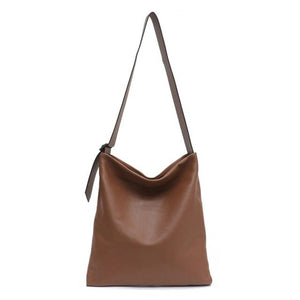 SC Genuine leather Hobo bags for Women Female High Quality Leather Belt Shoulde