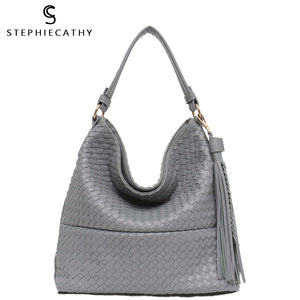 SC New Women Hobo Shoulder Bag Girls Handbag Luxury Brand Summer Handmade