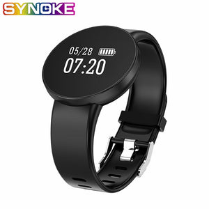 SYNOKE Bluetooth Smart Watch Women Sports Waterproof Heart Rate Monitor Sleep Monitoring Smartwatch Connect IOS Android Phone