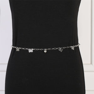 Sexy Trendy Dragonfly Waist Chain lovers Waist Belt Belly Bikini Summer Beach Necklace Adjustable Body Chain For Women Jewelry