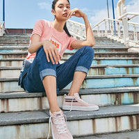 Skechers Casual Shoes Women Fashion Breathable Comfortable Lace up classic fashion  Tenis Feminino Zapatos De Mujer 18070-LTPK
