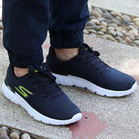Skechers GORUN Shoes Men Breathable Men Sneakers Casual Shoes Fashion Running Shoes Men Comfortable Flats 54354-NVLM