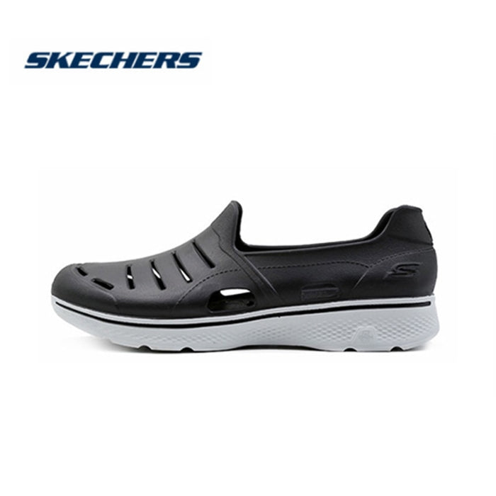Skechers Men Sandals 2019 New Arrival Flat Shoes Casual Breathable Sandals Men Shallow Light Waterproof Slippers Men 54271-BLK