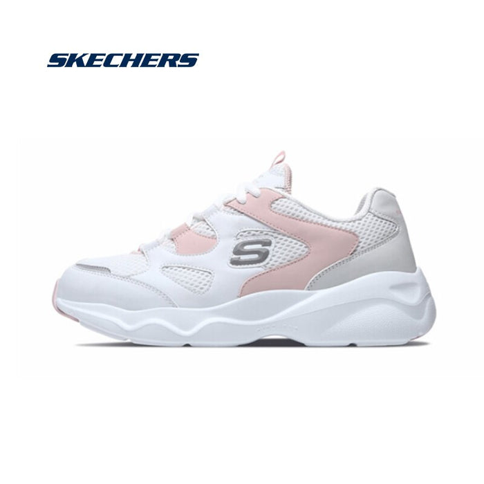 Skechers Shoes Woman Platform Casual Shoes Women Comfortable Breathable Original Sports Shoes High Quality Flats 88888129-BLK