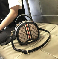 Small Bag Women New 2019 Fashion Super Fire Crossbody Old Color Handbag Round Hot Sale Western Europe And America Famous Brand