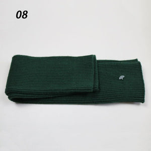 Sparsil Women Winter Cashmere Long Gloves Solid Knitted Soft Arm