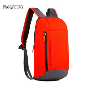 Sports Backpack Hiking Rucksack Men Women Unisex Schoolbags Satchel Bag Oxford Cloth backpack women mochila mujer plecak L*5