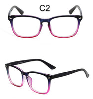 Square Clear Glasses Women Fashion Transparent Lens Eyeglasses Optical