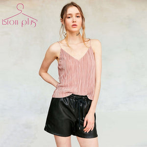 Summer Top Women Camis Big Sizes V-Neck Sleeveless Sexy Tank Top Casual European Style