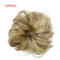 Synthetic Fake Hair Bun Chignons Hairpiece For Women Elastic Scrunchies Hair Piece Bun Hair Tail Updo Afro Ponytail Accessory