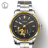 LOBINNI Watch Men Fashion Business Mechanical Japan MIYOTA Automatic Male Watches