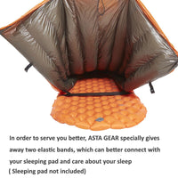 ASTAGEAR 20D Sleeping Quilts hammock Underquilt  95% White Duck Down Mummy Sleeping Bag Blanket Mat