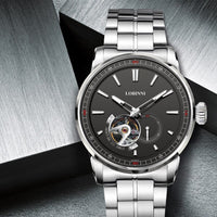 LOBINNI Watch Men Fashion Business Mechanical Japan MIYOTA Automatic Male Watches Top Brand Luxury Design Waterproof Watch