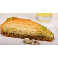 Gulluoglu Carrot Slice Baklava with Pistachio, Freshly Produced and Long Lasting, Turkish Baklava - 2 Pcs - 0.59 lb - 270 gr