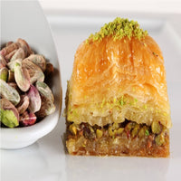 Gulluoglu's famous Pistachio Baklava (secret recipe since 1871) 7 pcs. 0.55 lb - 250 gr.